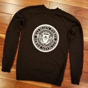 Balmain coin logo sweatshirt current 34 $600